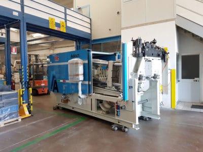 La nostra nuova macchina per pressofusione - EAGLES Engineering